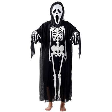 Halloween Cosplay Skeleton Pattern Ghost Clothes