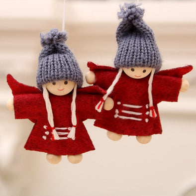New Angel Santa Claus Hanging Doll Decoration