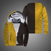 New Autumn and Winter Zipper Polar Fleece Cotton Long-Sleeved Cotton Jacket