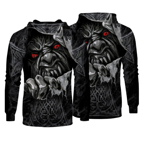 Men Hoodies Top Pullover Sweatshirt Hoodies Printing  Picture Clothing
