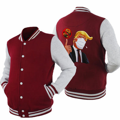 Trump 2020 Baseball Jacket America President Fashion  Baseball Uniform Outdoor