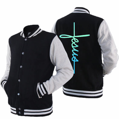 2020 New Men's Fashion College Varsity Jacket