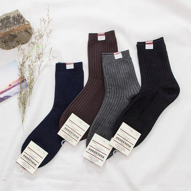 Men's Business Thick Cotton 5 pairs Socks