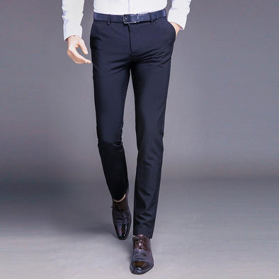 Men's Business Spring Thin Casual Pants