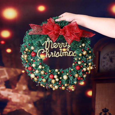 Door Hanging Christmas Wreath Christmas Home Decoration
