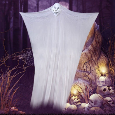 Halloween Decoration Horror Skull Hanging Cloth Props