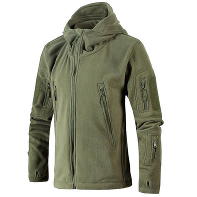 Men's Hiking Fleece Warm Windproof Breathable Stretchy Outdoor Winter Jacket