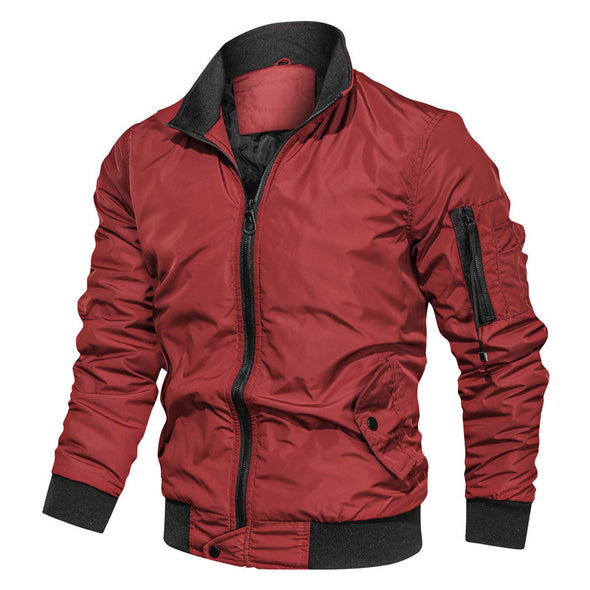 Men's Fashion Slim-Fit Military Bomber Jackets