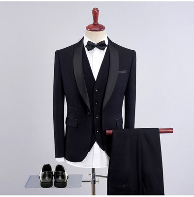 Men's Tuxedos Tailored  Fit Shawl Collar Single Breasted