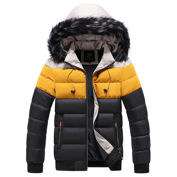 New Men Cotton Winter Coat