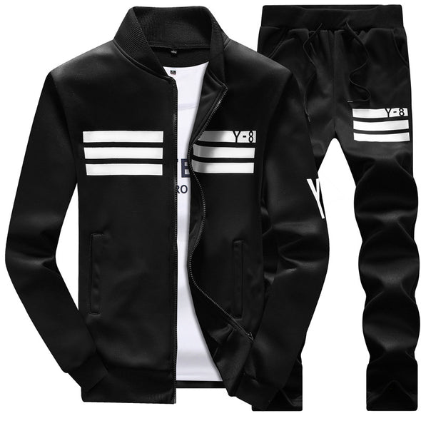 New Men Fashion Casual Sportsuit