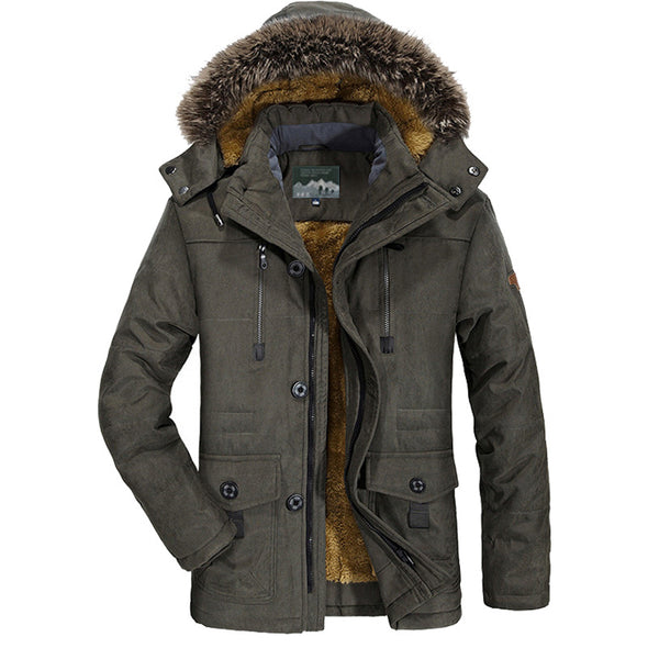 Men's Stand Collar Down Jacket