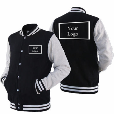 Baseball  HoodieCoat Jacket  Customized  Logo Print Brand