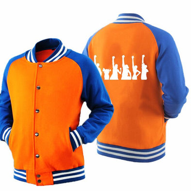 Spring Autumn Customized Logo Long-Sleeved Baseball Jackets