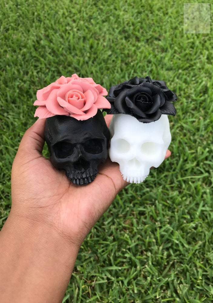 Resin Skull Display Decor