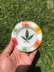 Daisy Cannabis Resin Ashtray