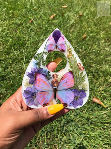 Amethyst Planchette Display
