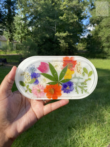 Milk Bath Bouquet Rolling Tray