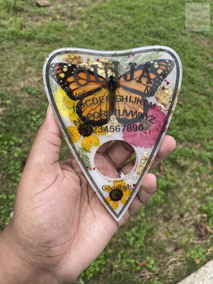 Monarch Milk Bath Planchette Wallhanging