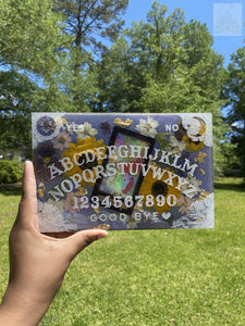 Color Shift Sunflower Ouija Board Wallhanging