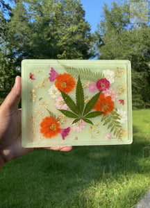 GITD 420 Bouquet Rolling Tray
