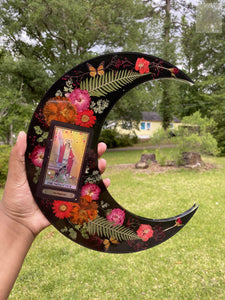 The Magician Moon Wallhanging