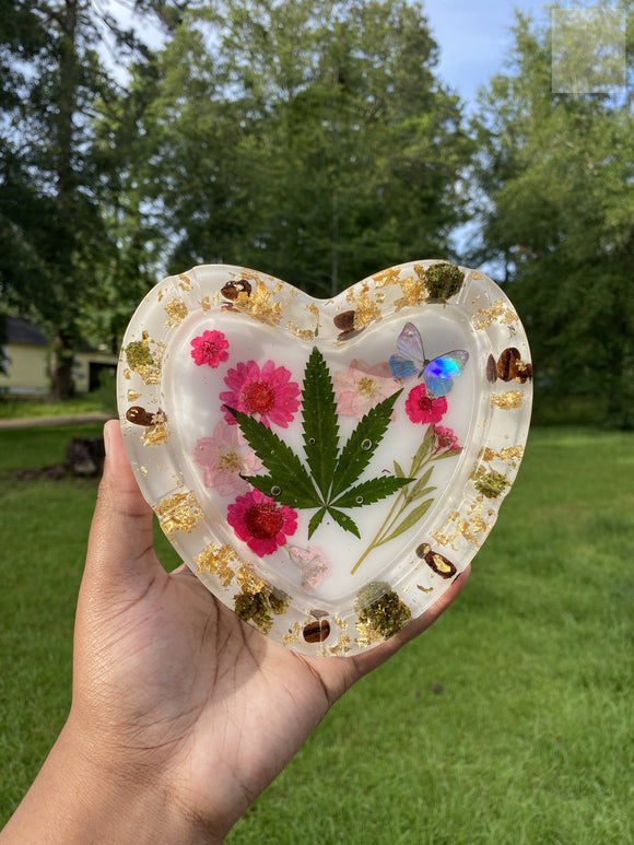 Floral 420 Nug Wake & Bake Ashtray