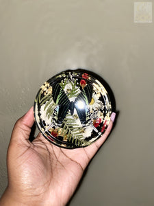 Round Butterfly Ashtray