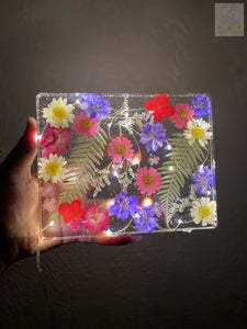 Large Floral LED Rolling Tray