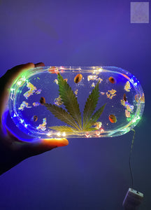 LED Wake and Bake Rolling Tray