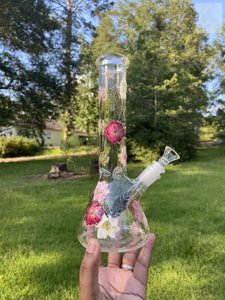 "10"" Rose Bouquet Water Pipe"