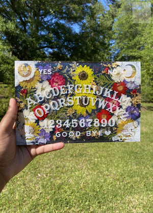 XL Glitter Color Shift Ouija Board Set