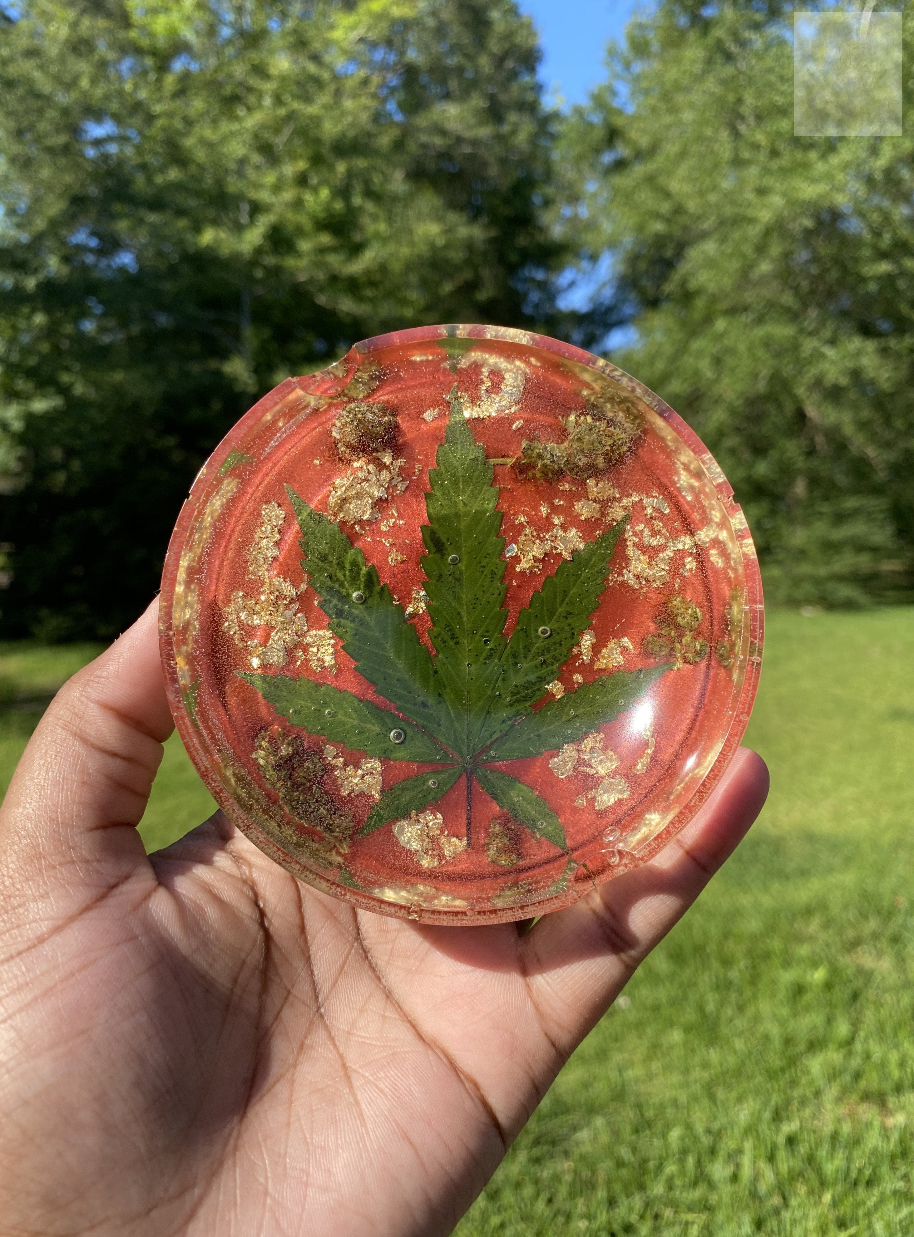 Royal Red Mini 420 Wake and Bake Ashtray