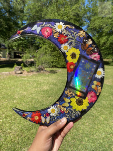 Holo Color Shift XL Moon Wallhanging