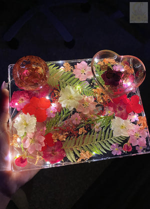 Pretty in Pink LED Rolling Tray
