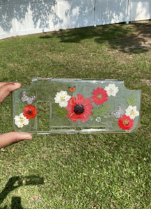 Red Sunflower Switch Case