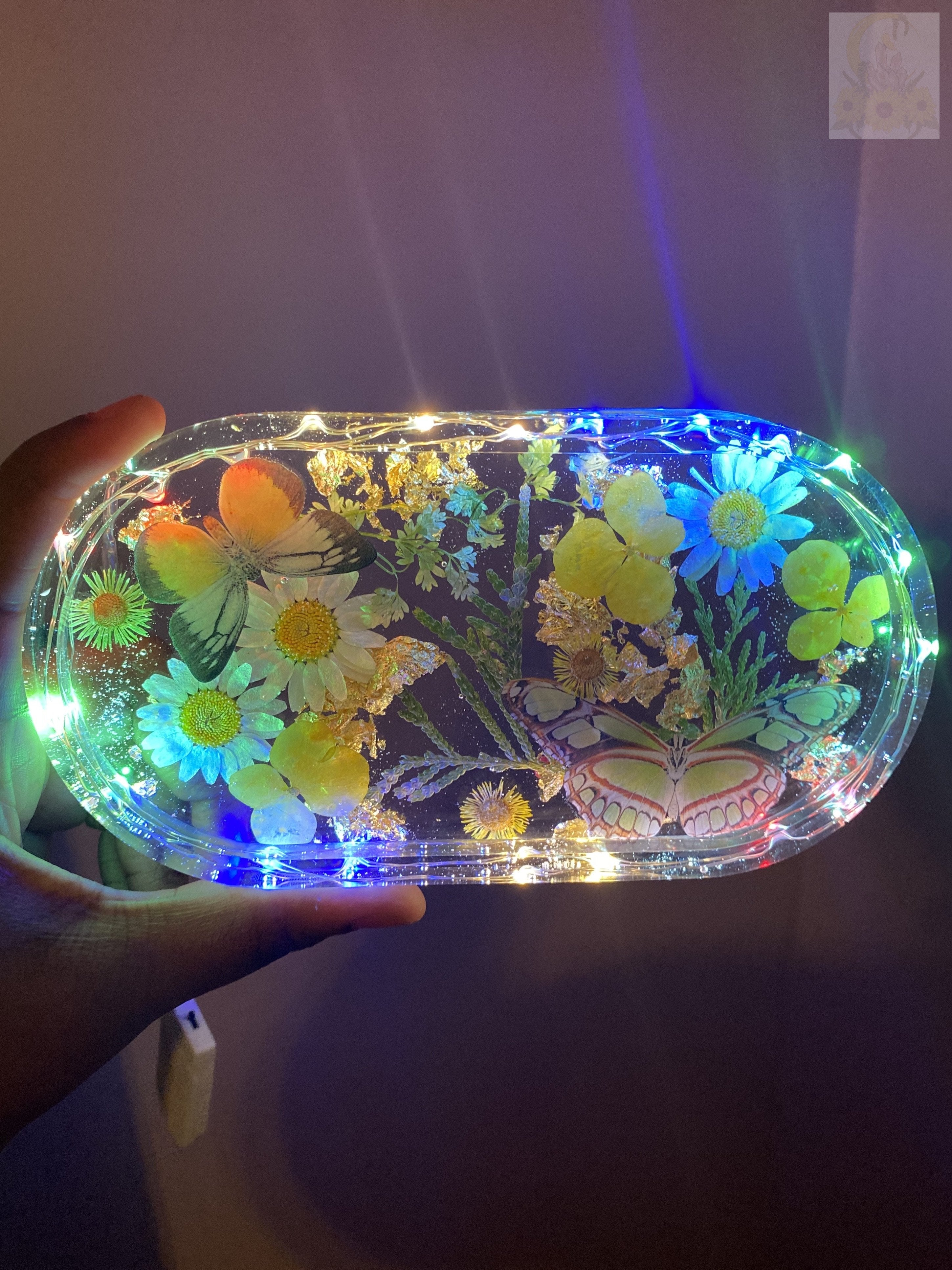 Sunshine Rainbow LED Rolling Tray