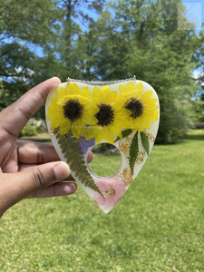 Sunflower Planchette Wallhanging