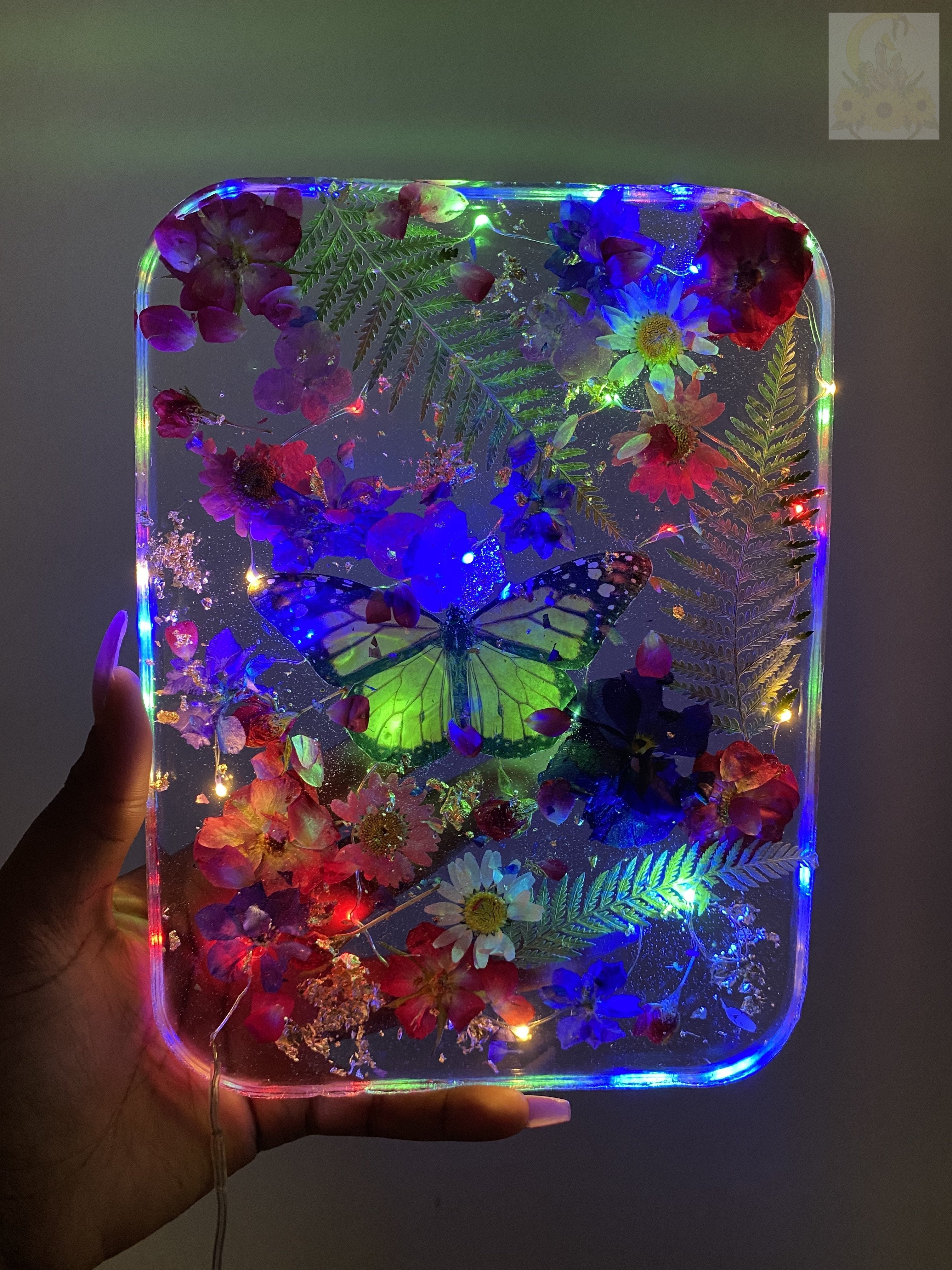 Aloha Monarch Large LED Rolling Tray