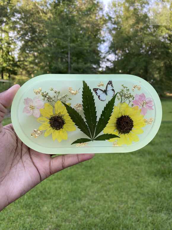 420 Glow in The Dark Pastel Rolling Tray