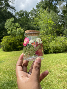 Red Roses 7 Oz Stash Jar