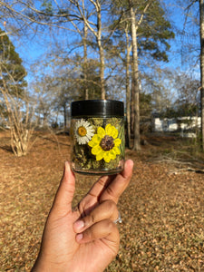 Sunflower / Daisy Stash Jar