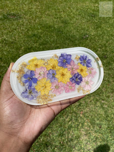 Larkspur Milk Bath Rolling Tray
