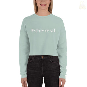 Ethereal Crop Sweatshirt