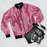 "Camo ""Pink""  Bomber Jacket - DCups"