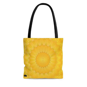 "Abstract ""Beaming Sun"" Tote Bag - DCups"
