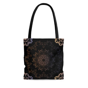 "Abstract ""Mystic Corners"" Tote Bag - DCups"