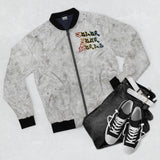 "Graffiti ""Colorful Girl"" Bomber Jacket - DCups"