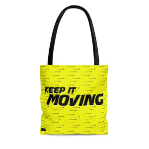"Phrase ""Keep It Moving"" Tote Bag - DCups"