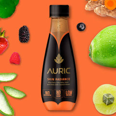 Auric Skin Radiance Drink for Glowing Skin. 5 Ayurvedic Herbs in Coconut Water without any chemicals preservatives sugar